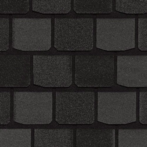 Гибкая черепица CertainTeed Highland Stlate Black Granite (руб/м2) в Жуковском